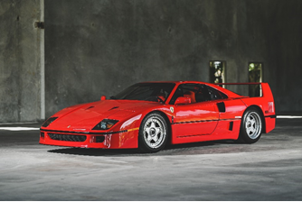 200815 1994 Ferrari F40 (Credit — Jasen Delgado ©2020 Courtesy of RM Sotheby's)