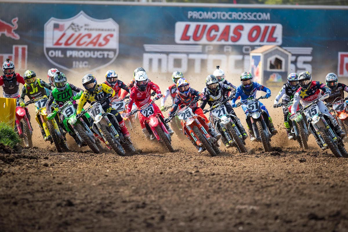 200816 The 2020 Lucas Oil Pro Motocross Championship is officially underway