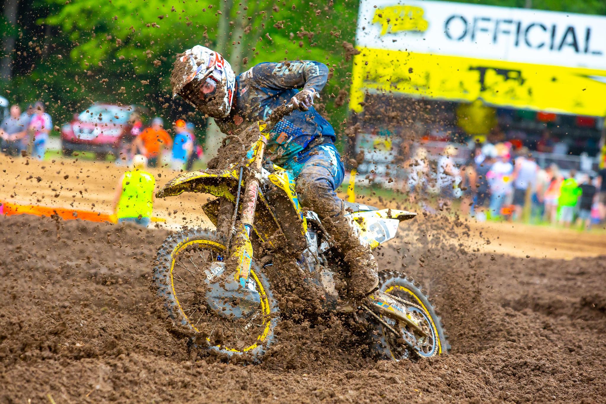 200817 Fredrik Noren (31) had two solid rides on his Suzuki RM-Z450