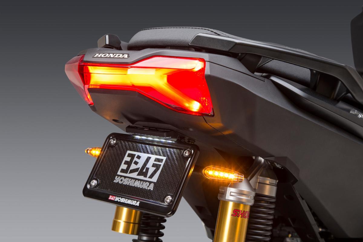 200817 Yoshimura Introduces 2021 Honda ADV150 Fender Eliminator Kit (1)