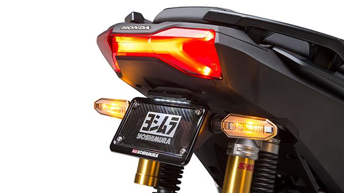200817 Yoshimura Introduces 2021 Honda ADV150 Fender Eliminator Kit (678)