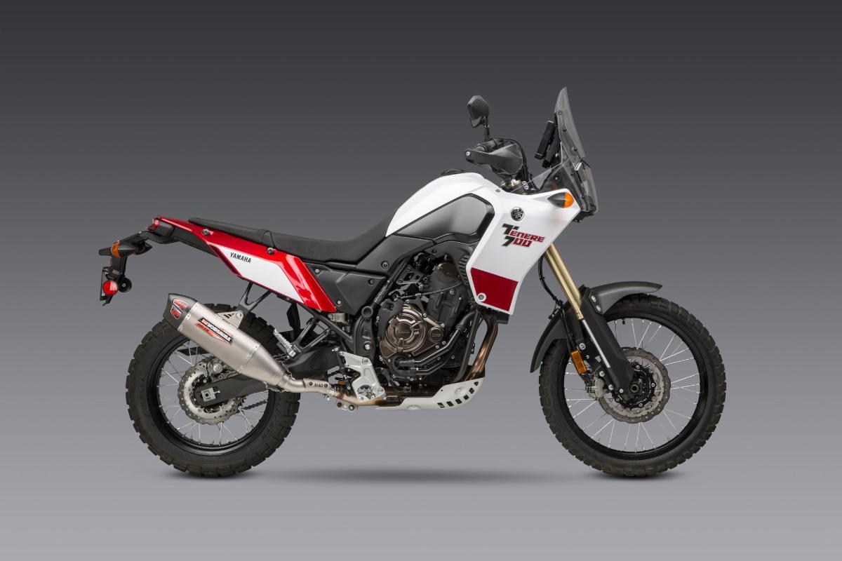 200819 2020 Yamaha Tenere 700 with Works Finish RS-12 ADV Slip-on (1)