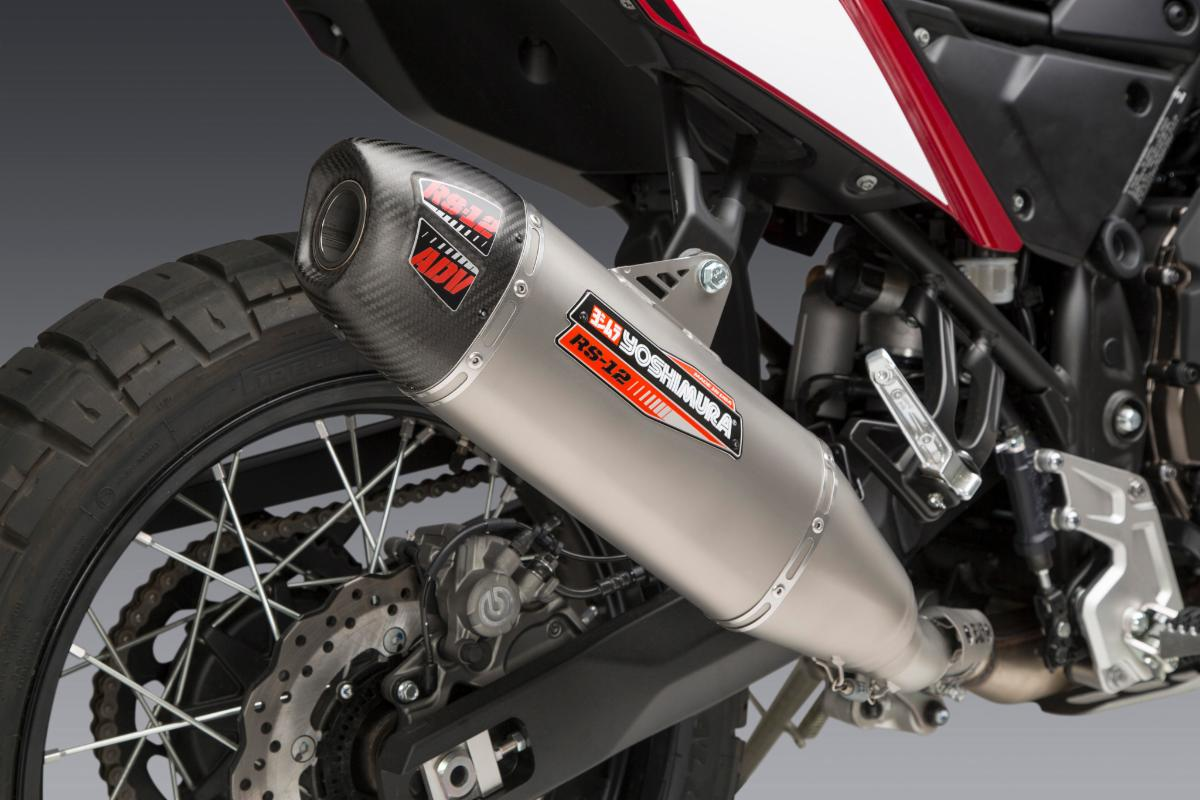 200819 2020 Yamaha Tenere 700 with Works Finish RS-12 ADV Slip-on (2)