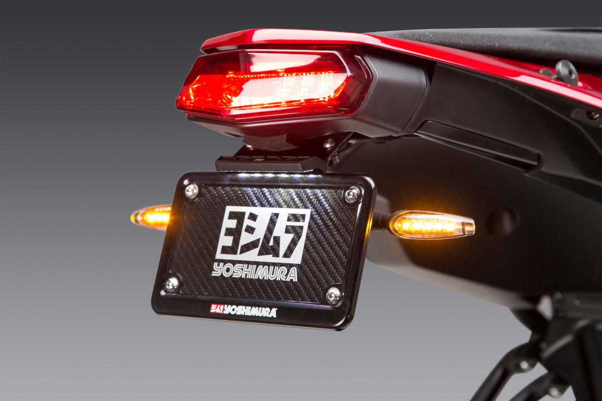 200819 Fender Eliminator Kit for Tenere 700 shown with Yoshimura LED signals (sold separately). (1)