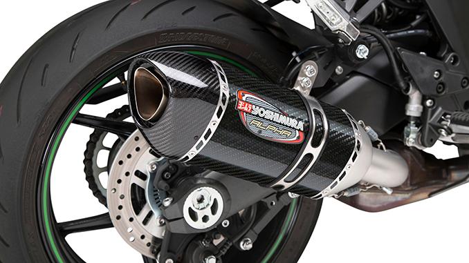 200824 2020 Kawasaki Ninja 1000 SX with stainless carbon Works Finish Alpha slip-on (678)