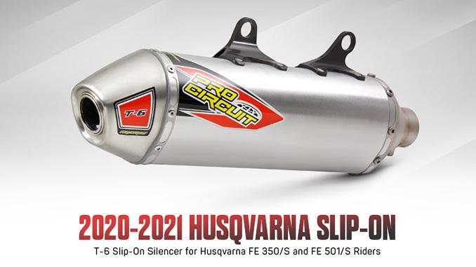 200826 Pro Circuit 2020-2021 Husqvarna FE 350:501 T-6 Slip-On (678)