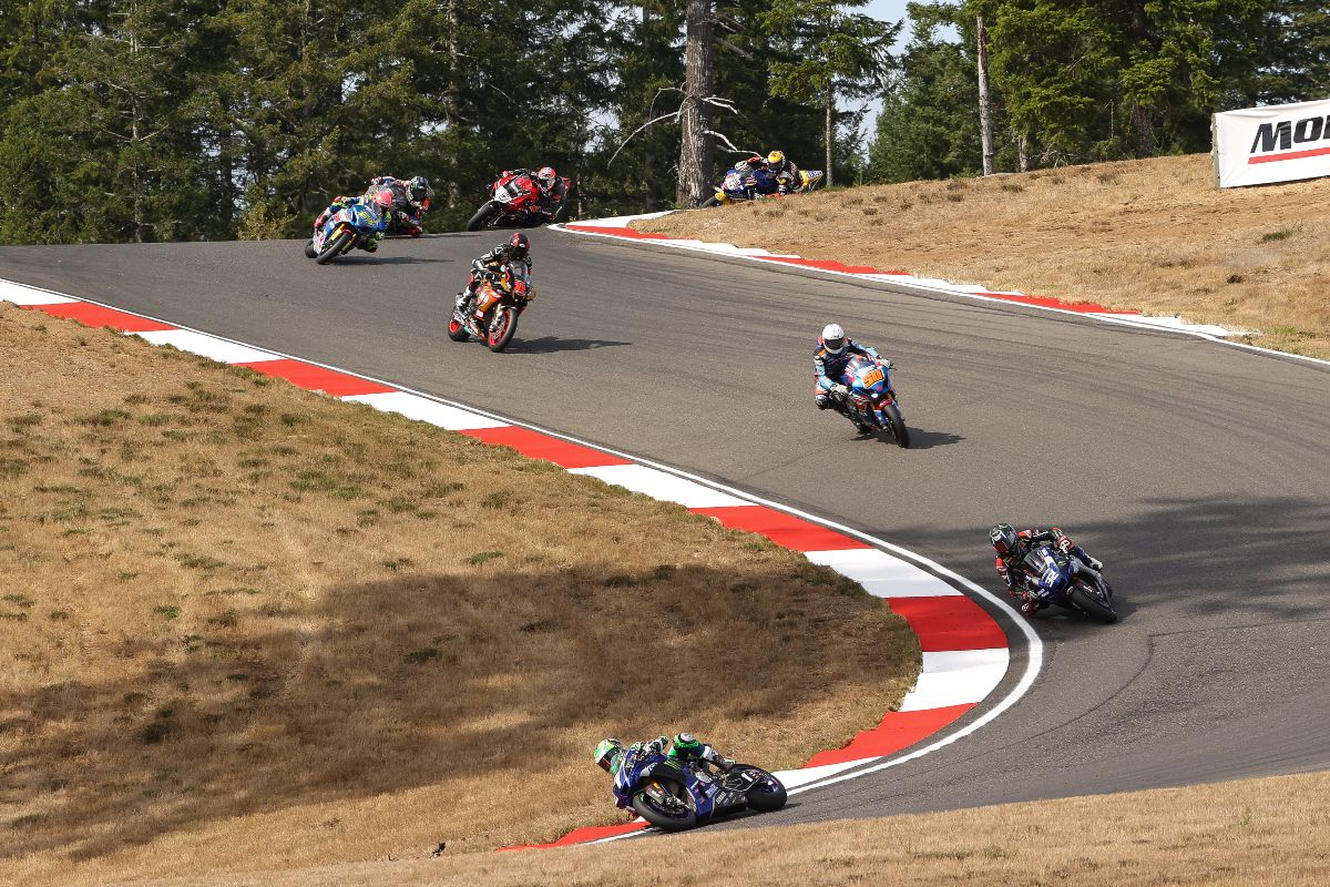 200829 Cameron Beaubier (1) leads his teammate Jake Gagne (32), Bobby Fong (50) and Mathew Scholtz (11) (1)