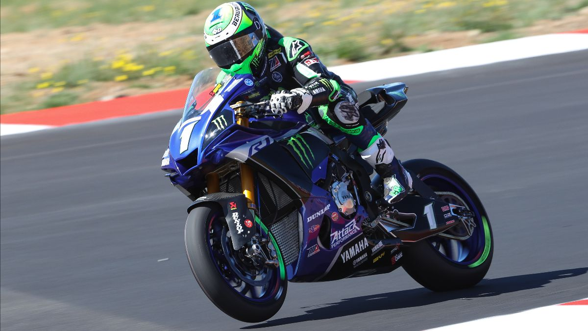 200829 Monster Energy Attack Performance Yamaha's Cameron Beaubier