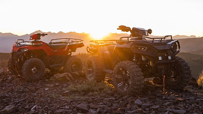 2021 Polaris Sportsman 450 and 570 (678)
