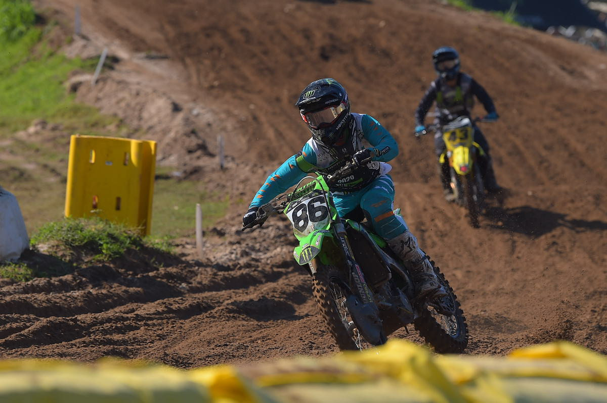 A win in the final Schoolboy 2 moto vaulted Chance Hymas to the title.