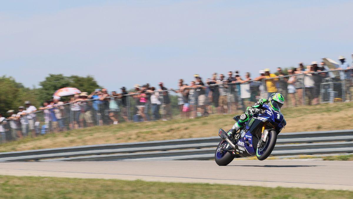 Cameron Beaubier wheelies his way to victory