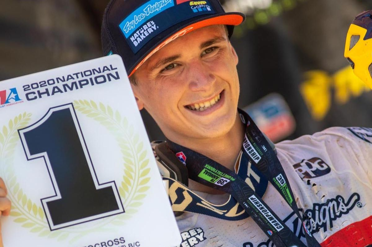 Max Vohland completed a perfect week, going a total of 6-0 in motos (1)