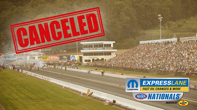 Mopar Express Lane NHRA Nationals Canceled due to Pandemic (678)