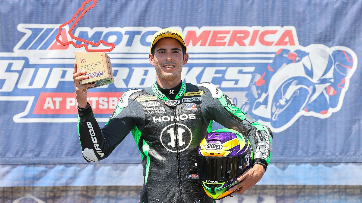 Richie Escalante has won seven Supersport races thus far in 2020