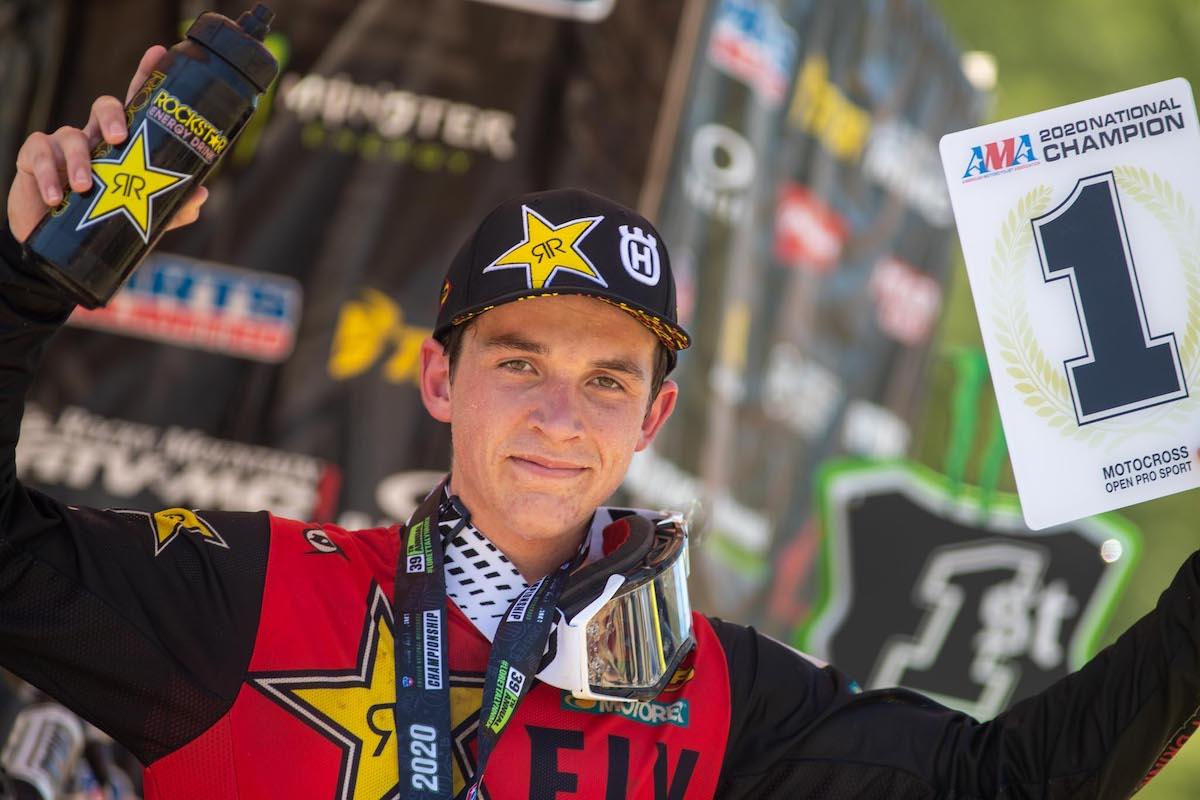 Stilez Robertson is the 2020 Nicky Hayden AMA Motocross Horizon Award winner (1)