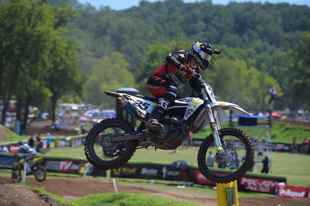 Stilez Robertson took home the AMA National Championship in 250 Pro Sport (2)