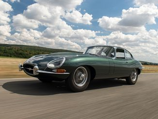 1961 Jaguar E-Type Series 1 3.8-Litre Fixed Head Coupé (Credit – Dirk De Jager ©2020 Courtesy of RM Sotheby's) (678)