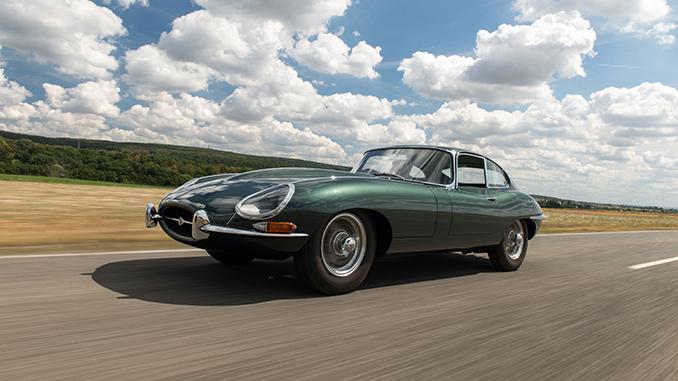 1961 Jaguar E-Type Series 1 3.8-Litre Fixed Head Coupé (Credit – Dirk De Jager ©2020 Courtesy of RM Sotheby's) (678)