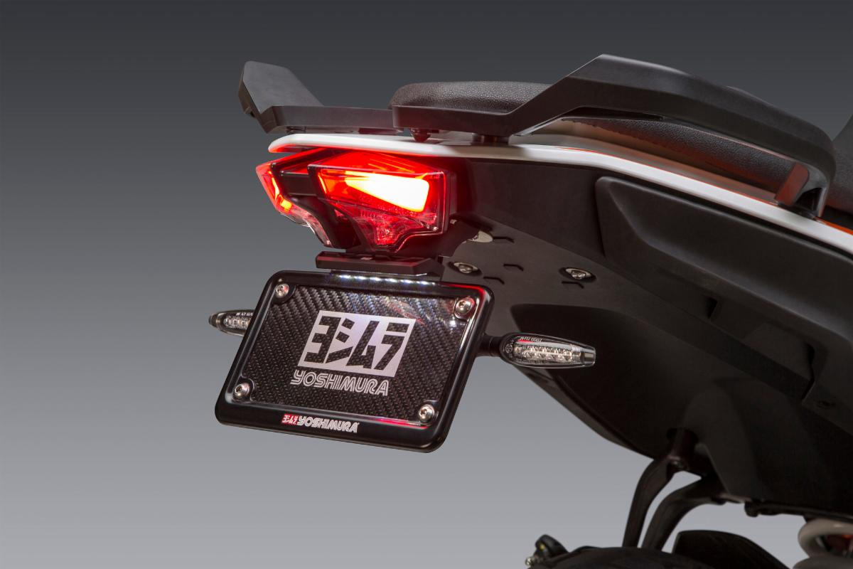 200901 Fender Eliminator Kit (shown with our LED signals sold separately) is a perfect accessory for the 390 Adventure (1)