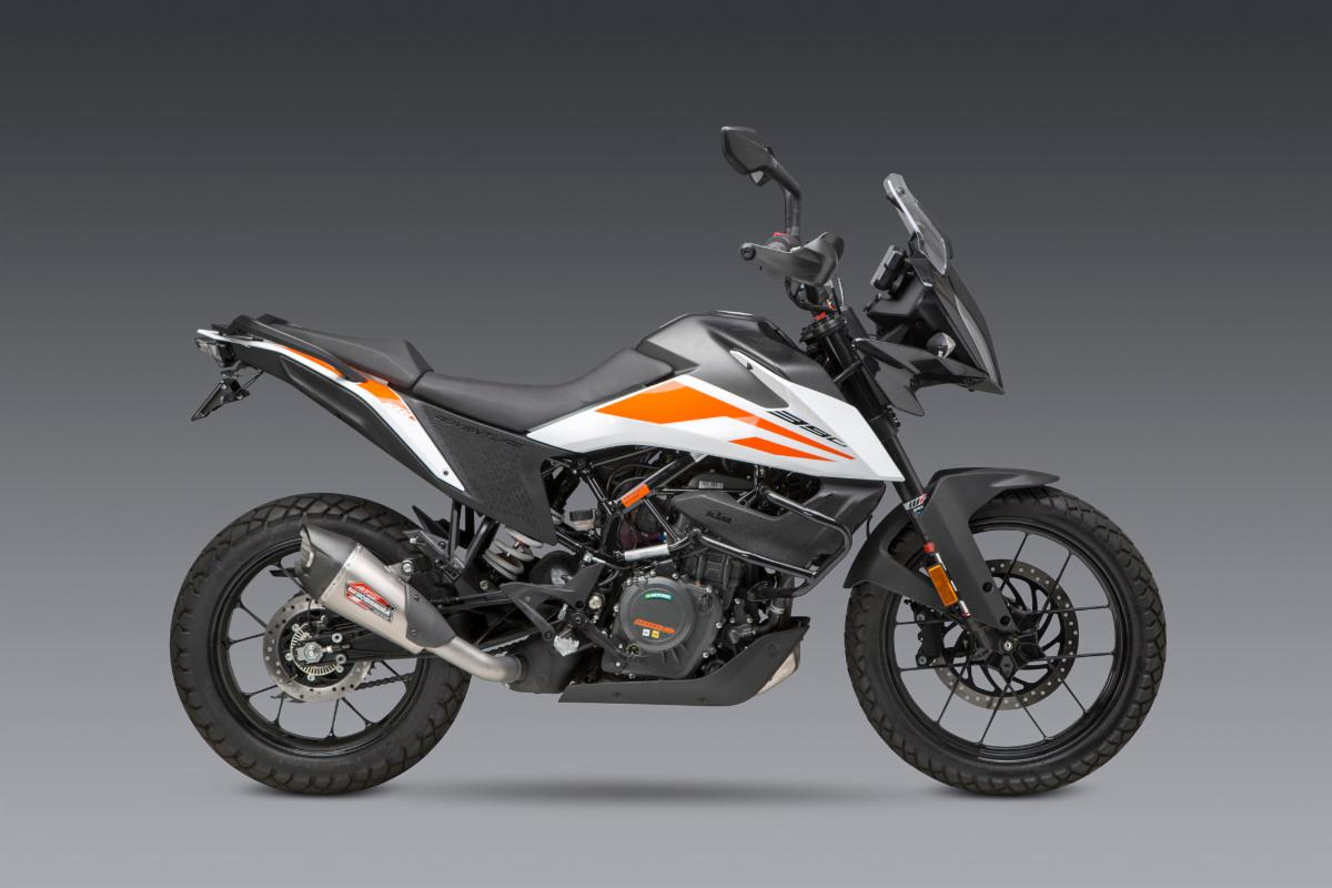 200901 Yoshimura Introduces 2020 KTM 390 Adventure AT2 Slip-on and Fender Eliminator Kit (1)
