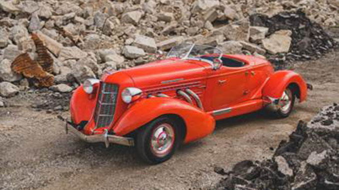 200908 1935 Auburn Eight Supercharged Speedster (Credit – Darin Schnabel © 2020 Courtesy of RM Auctions)(678)