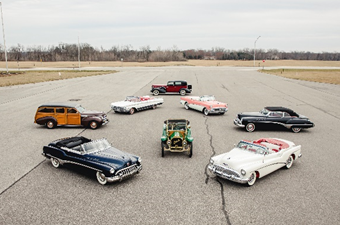 A snapshot of highlights within The Roadmaster Collection (Credit – Teddy Pieper © 2020 Courtesy of RM Auctions)
