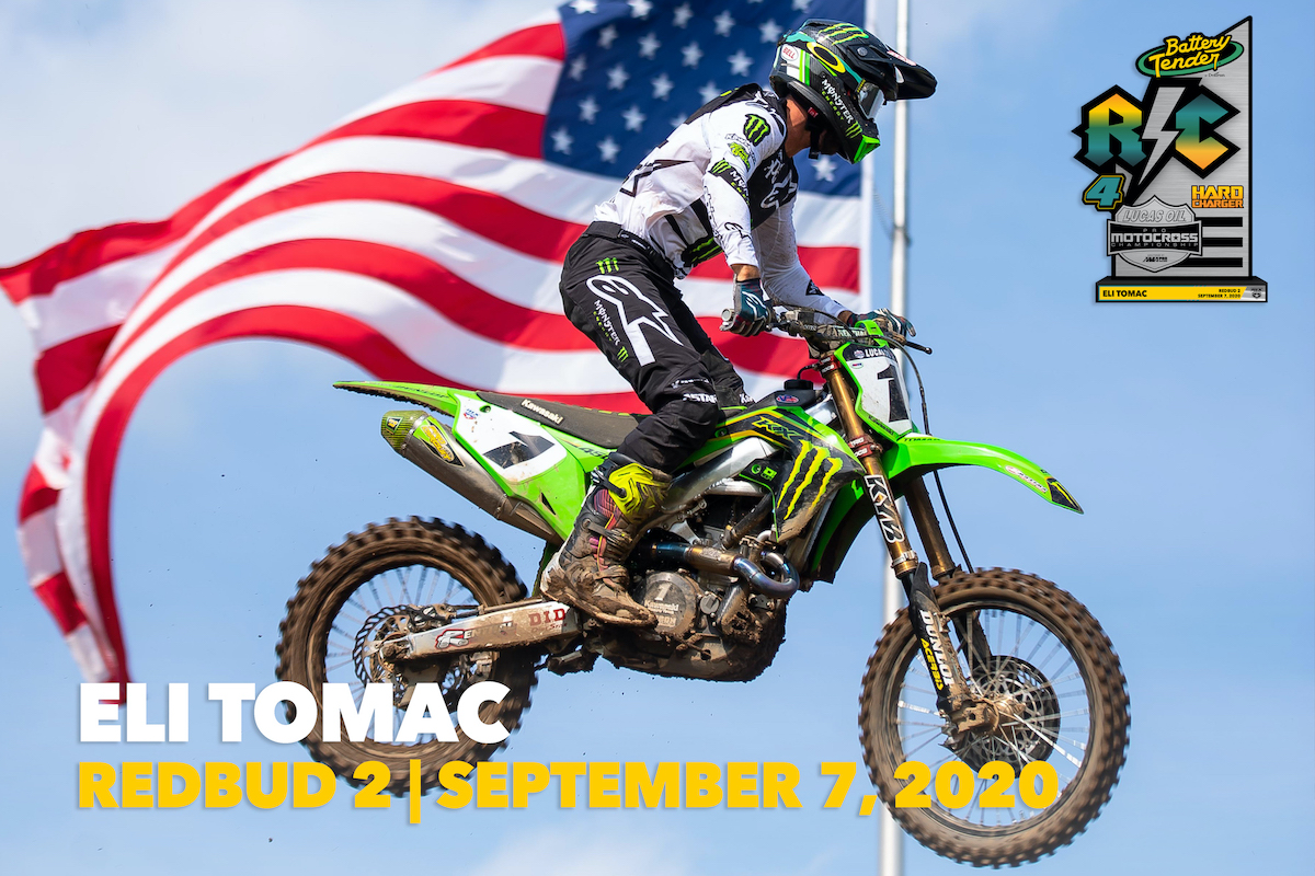 200910 #1 Eli Tomac : Cortez, Colorado : Kawasaki +22 positions in 450 Moto 2
