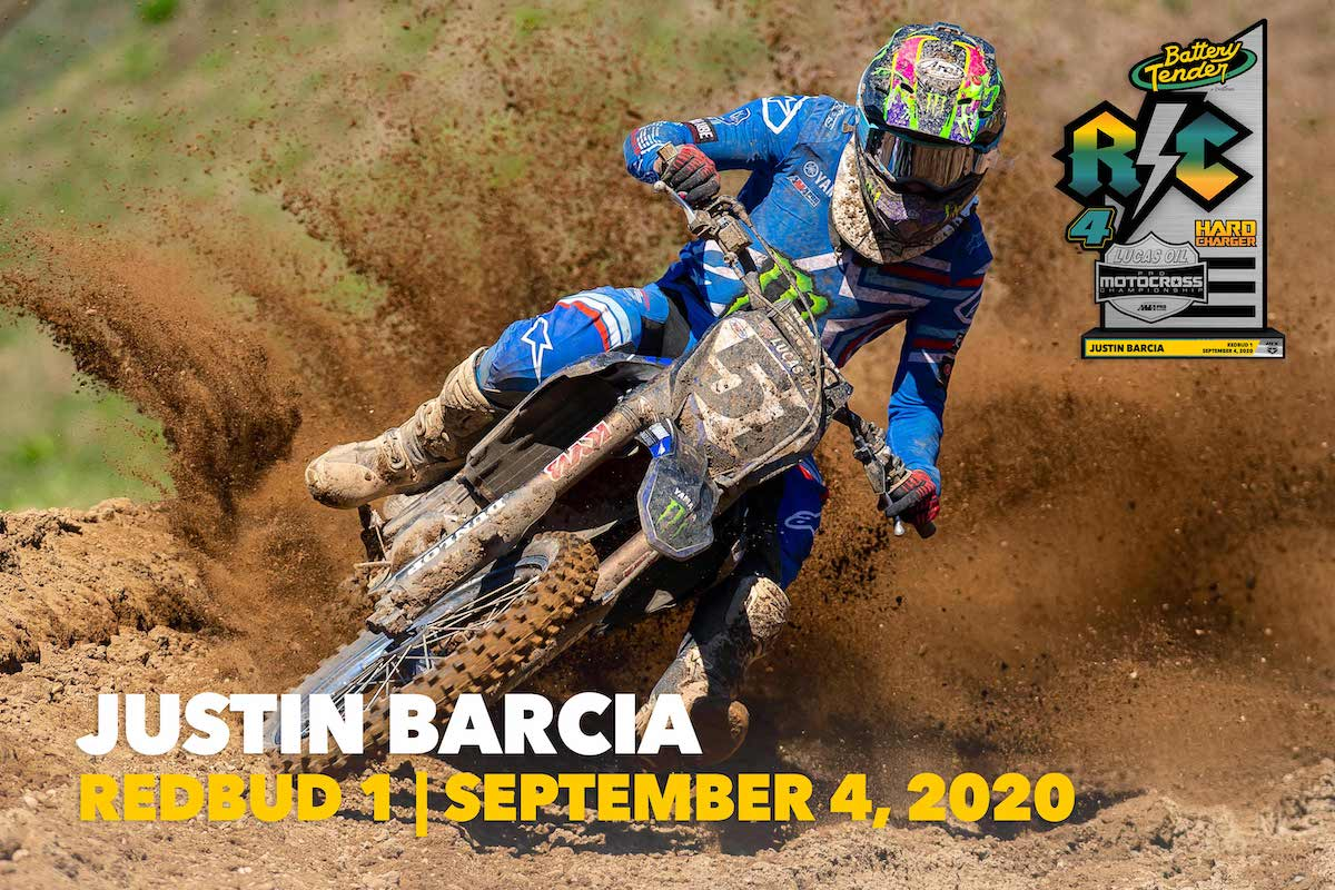 200910 #51 Justin Barcia : Monroe, New York : Yamaha +18 positions in 450 Moto 1