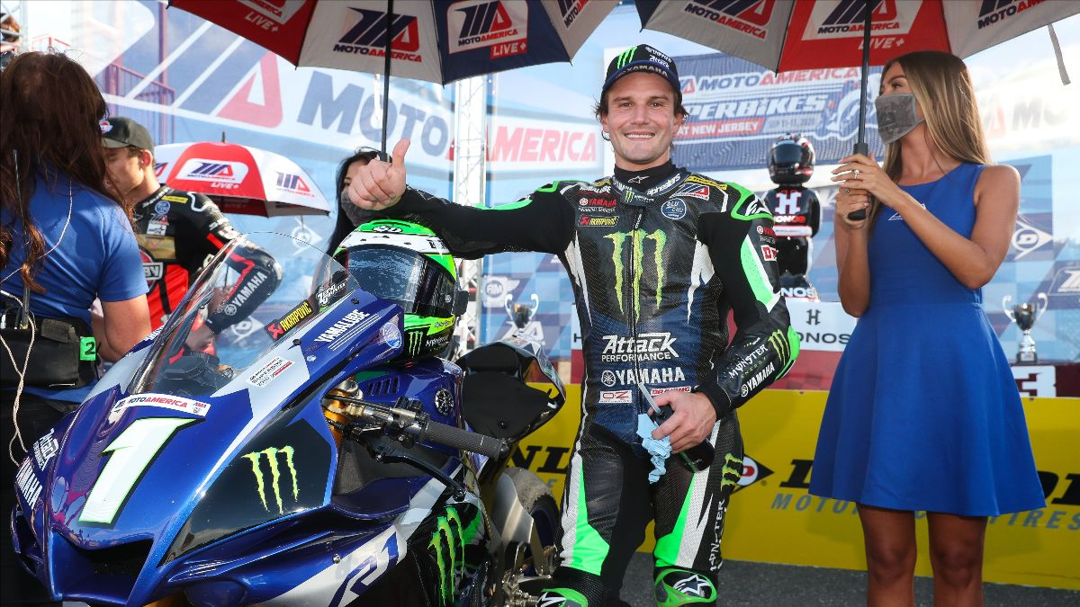200913 With 10 wins in 11 HONOS Superbike starts in 2020, who can blame Cameron Beaubier for having a permanent smile