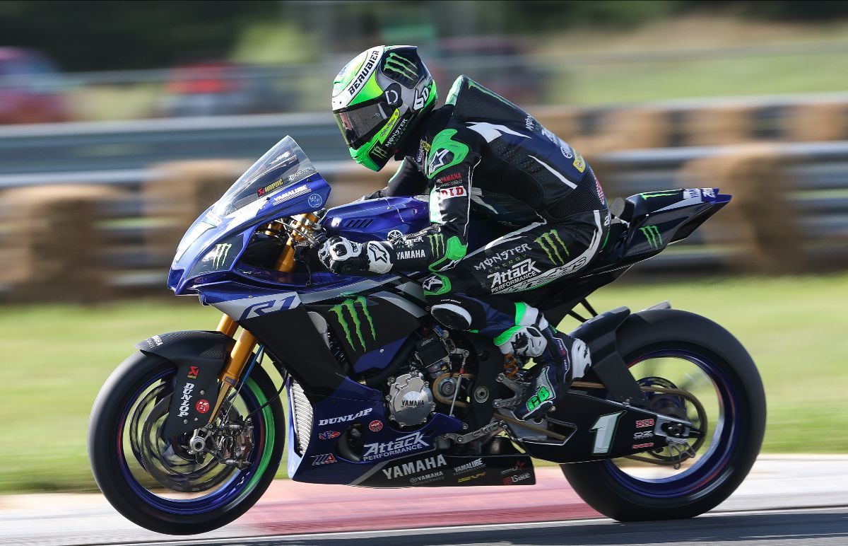 200919 Monster Energy Attack Performance Yamaha's Cameron Beaubier broke the Superbike lap record