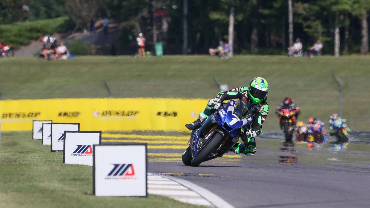 200920 Four-time MotoAmerica Superbike Champion Cameron Beaubier won his 13th race of the season