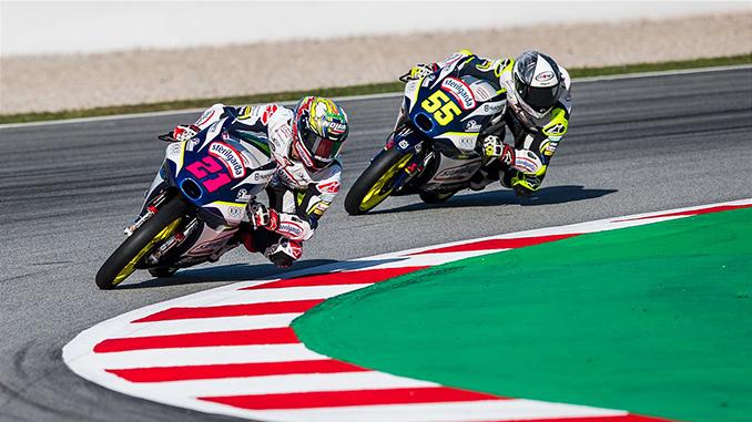 Alonso Lopez & Romano Fenati 2020 Moto3 Catalunya (678)