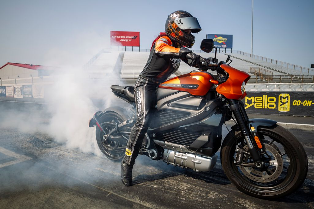 Harley-Davidson LiveWire sets all-new records