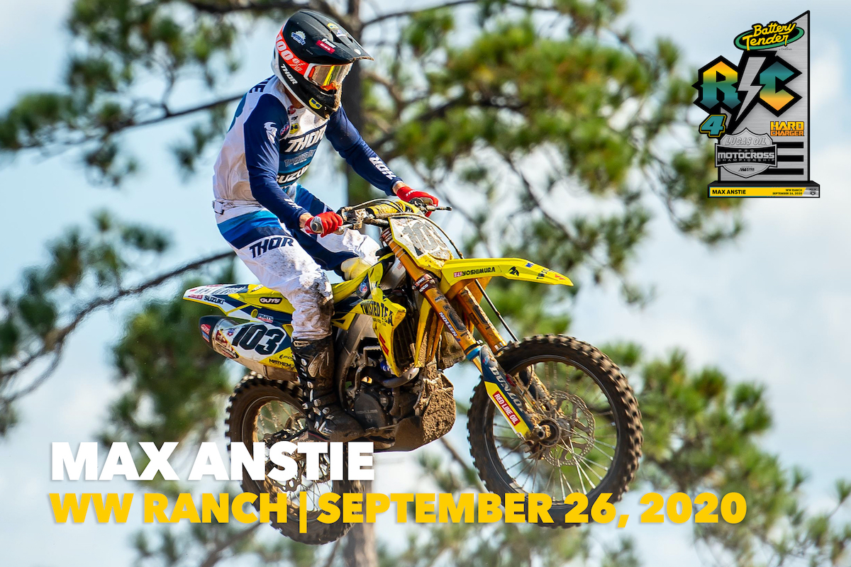 #103 Max Anstie – RC Hard Charger Award – WW Ranch