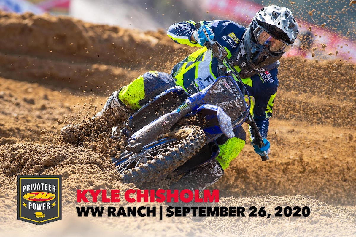 #11 Kyle Chisholm – FMF Privateer Power Award – WW Ranch