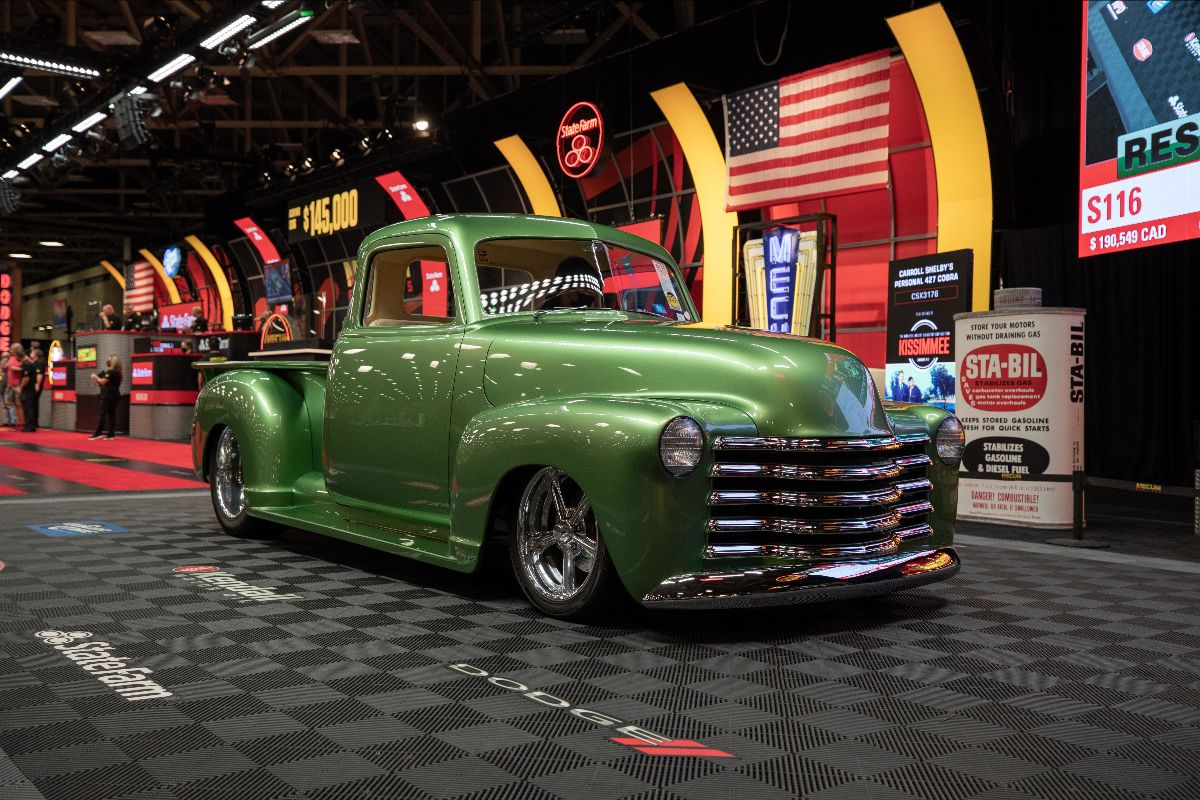 1949 Chevrolet 3100 Resto Mod 502 CI, Automatic (Lot S116) sold at $165,000 - Mecum Dallas