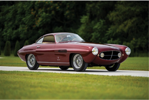 1953 Fiat 8V Supersonic by Ghia (Credit – Darin Schnabel ©2019 Courtesy of RM Sotheby's)