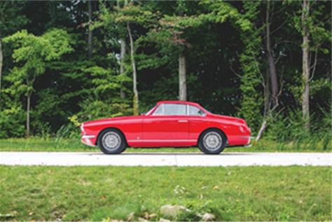 1954 Fiat 8V Coupe by Vignale (2)(Credit – ©2019 Courtesy of RM Sotheby's)