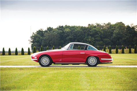 1954 Fiat 8V Coupe by Vignale (Credit – ©2019 Courtesy of RM Sotheby's)