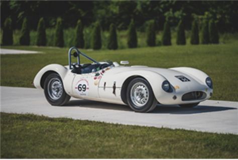 1955 Cooper-Jaguar T38 Mk II (Credit – Darin Schnabel ©2019 Courtesy of RM Sotheby's)