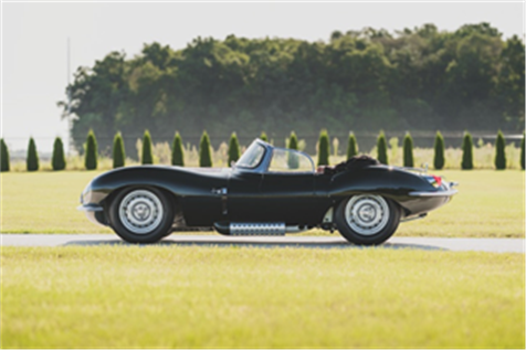 1957 Jaguar XKSS Continuation (Credit – Darin Schnabel ©2019 Courtesy of RM Sotheby's)