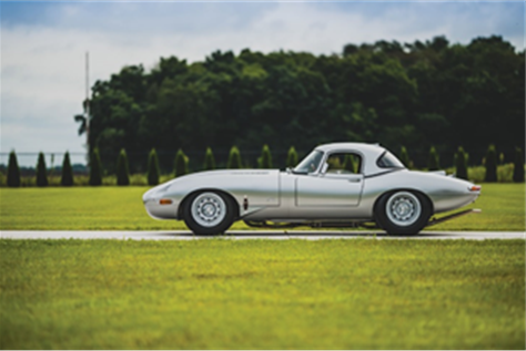 1963 Jaguar E-Type Lightweight Continuation (Credit – Darin Schnabel ©2019 Courtesy of RM Sotheby's)