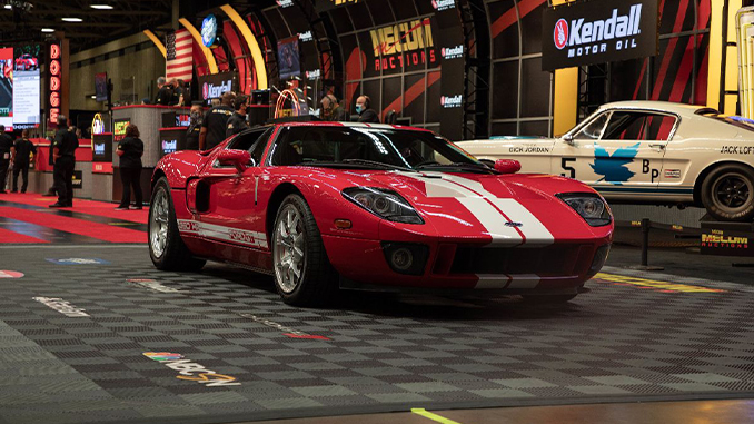 2006 Ford GT 2,150 Miles, All 4 Options (Lot S99) sold at $302,500 - Mecum Dallas (678)