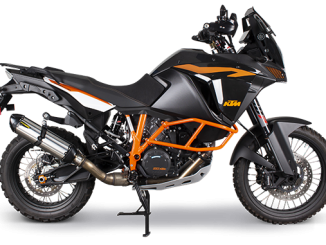 201001 Two Brothers Racing 2015+ KTM 1050-1290 Adventure S1R Slip-On System (678)