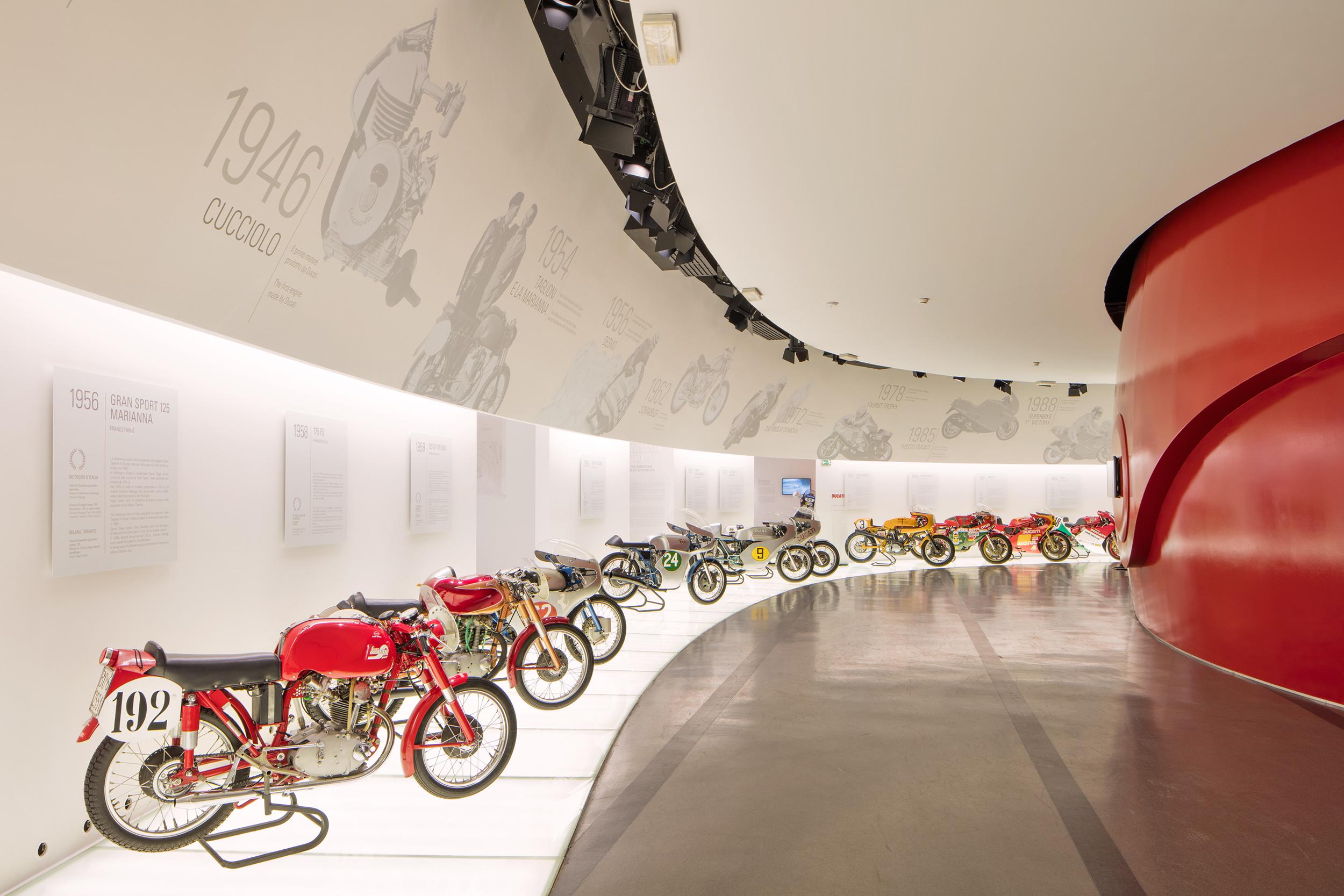 201002 Ducati Museum Racing Room_UC29151_High