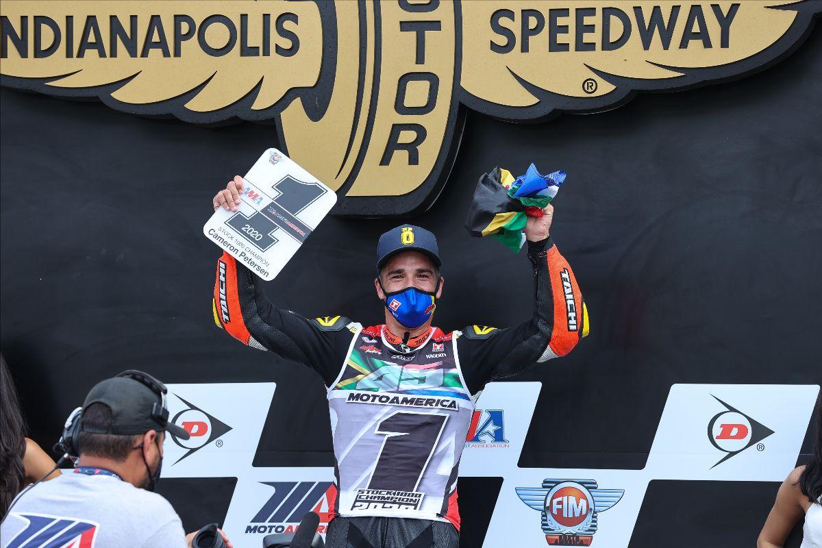 201011 Cameron Petersen won the Stock 1000 Championship