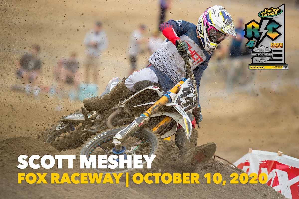 201017 RC Hard Charger Award - #411 Scott Meshey : Zephyrhills, Florida : Husqvarna