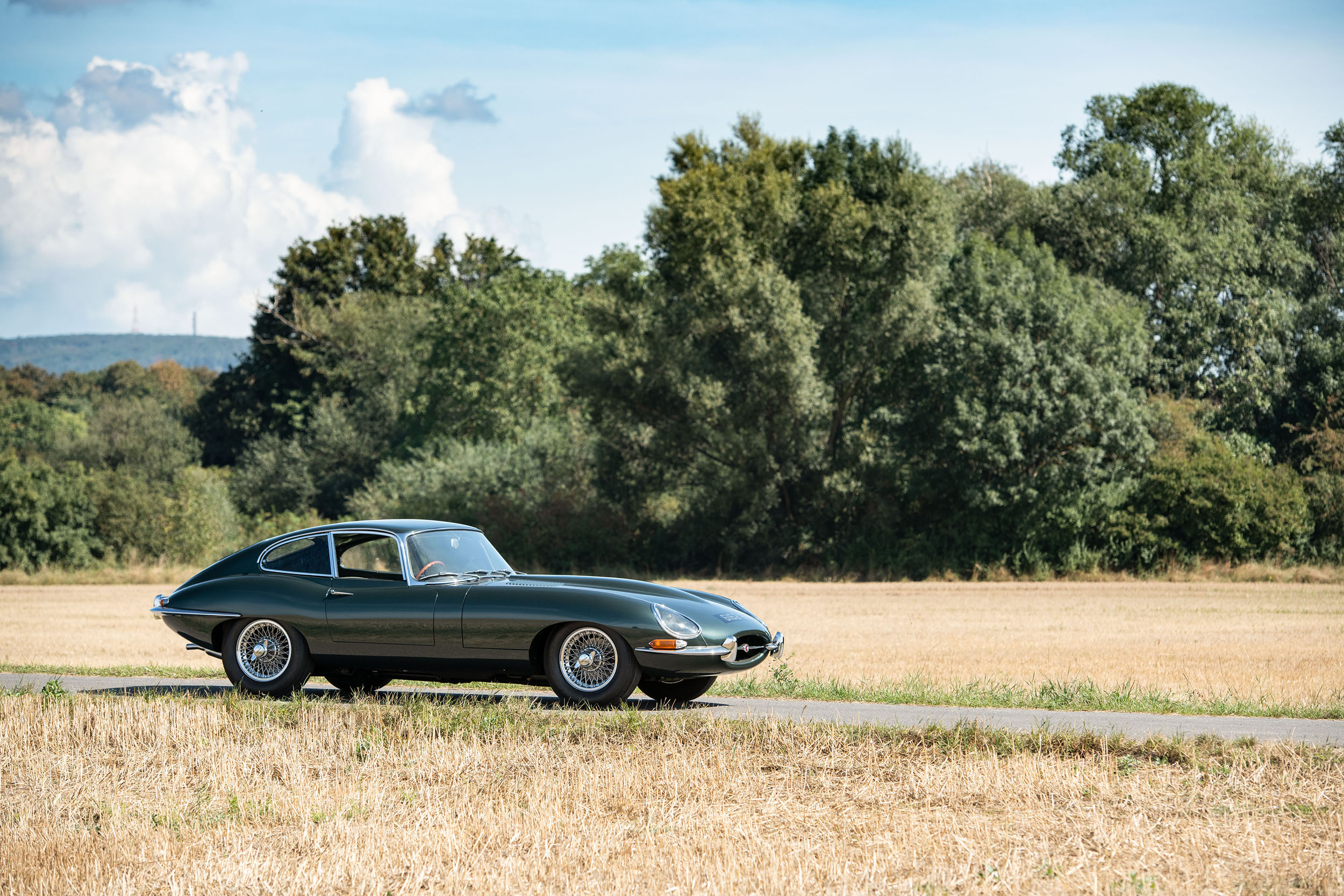 201021 1961 Jaguar E-Type Series 1 3.8-Litre Fixed Head Coupé 'Factory Development' (Credit – ©2020 Courtesy of RM Sotheby's)