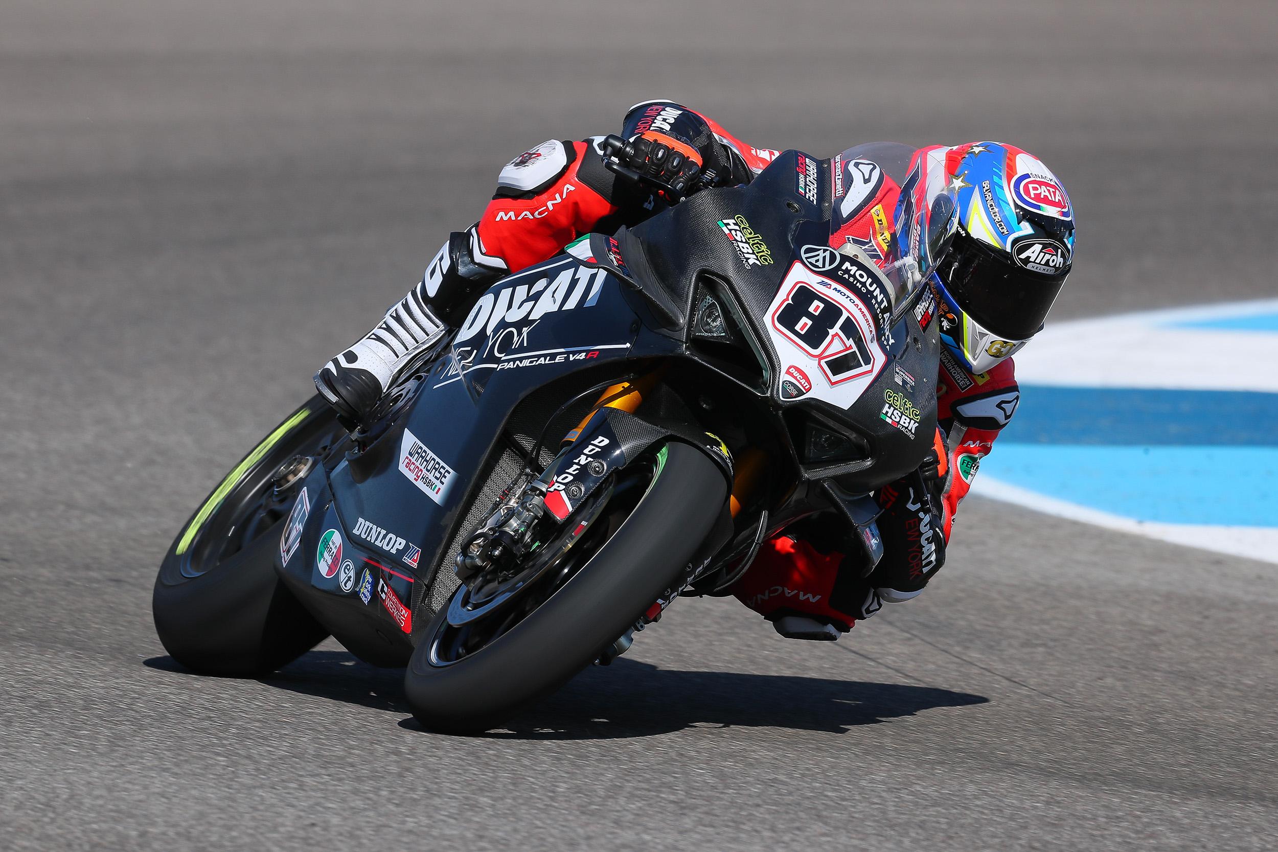 201021 MotoAmerica - Superbike – Lorenzo Zanetti #87