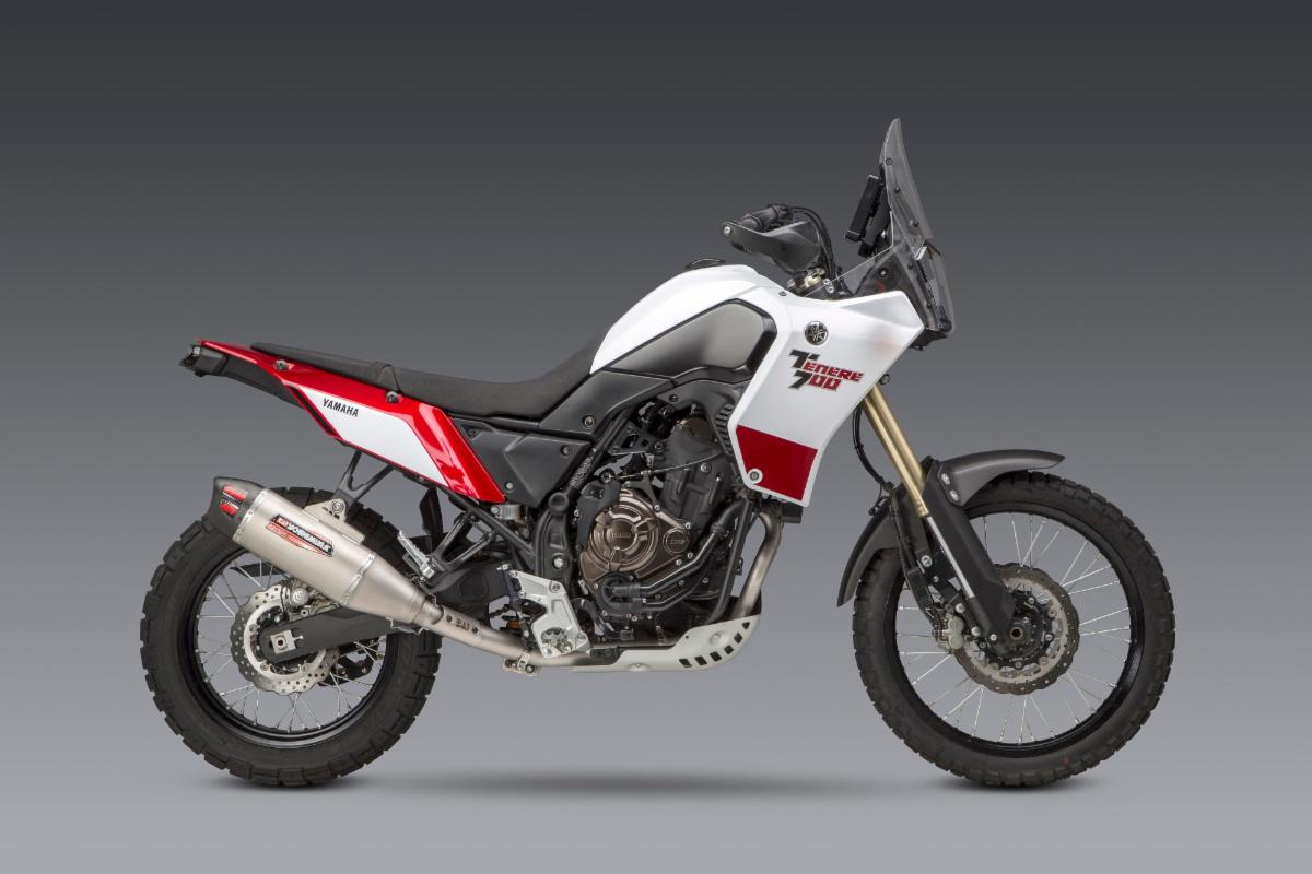 201023 Yoshimura Introduces 2021 Yamaha Tenere 700 RS-12ADV Full System - SIDE